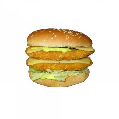 Burger poulet salsa double