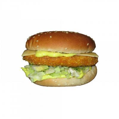Burger poulet salsa simple