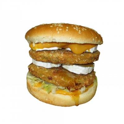 Burger vege chevre double