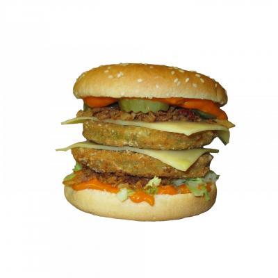 Burger vege chti double
