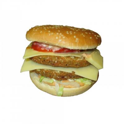 Burger vege double
