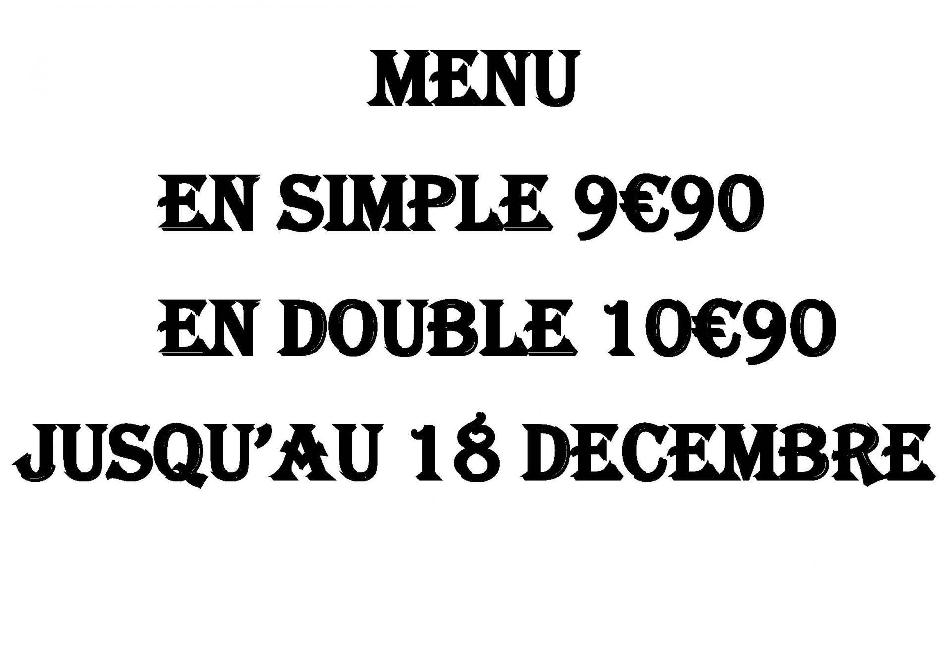 En menu
